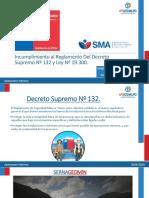 Incumplimiento al Reglamento Del Decreto Supremo Nº 132.pptx