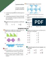 Taller Numeros Racionales- Fracciones - Mixtas