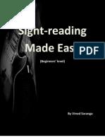Sight Reading Made Easy