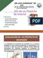 Evaluación de Un Proyecto WENDY