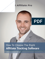 How To Choose The Right Affiliate Tracking Software