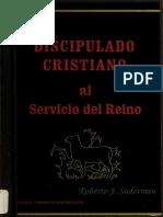 Discipulado Cristiano Al Servicio Del Reino