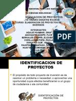 Identificacion de Proyectos-A