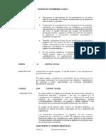 Cuentas de Patrimonio Clase 3