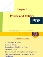 Chapter 7-Power & Politics