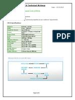 CRCA technical notes