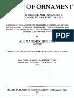Alexander Speltz - The Styles of Ornament