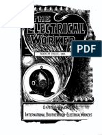 344. International Brotherhood of Electrical Workers (IBEW) from The Electrical Worker March 1903