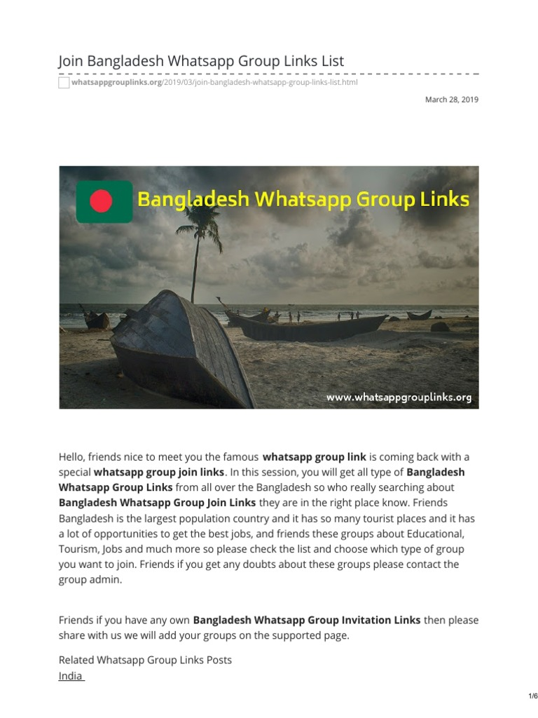 Whatsappgrouplinks org-Join Bangladesh Whatsapp Group Links