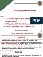 Heating & Cooling Loads