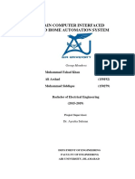 BCI BASED HOME AUTOMATION SYSTEM Report.pdf