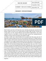 Bulletin - Environment - The Plastic Epidemic