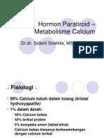 Hormon Paratiroid Kuliah 211204