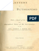 Letters of Samuel Rutherford by Samuel Rutherford