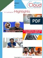 Paid Current Affairs Study PDF APRIL 2019