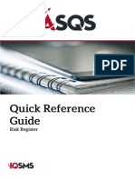 ASQS Quick Ref Risk Register