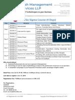 Six Sigma Content