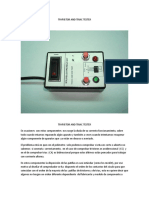 THYRISTOR AND TRIAC TESTER.doc