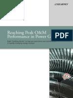Reaching Peak OM Performance in Power Generation