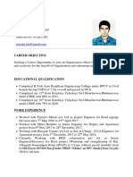 Priyajit's Resume New