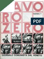 Lavoro Zero, n.1, Febbraio 76