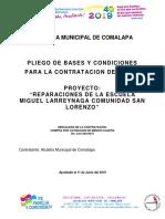 Pbc Reparacion Esc Miguel Larreynaga