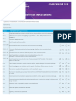 AS3000 Checklist
