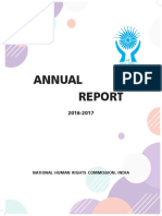 Annual Report of NHRC (2016-17)