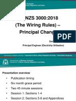 Wiring for Australia