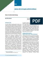 Fundamentos básicos de la terapia antimicrobiana