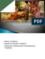 Development of Philippine Art
