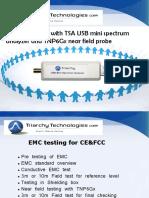 EMC Pre Testing With TSA USB Mini Spectrum Analyzer