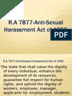 Anti Sexual Act