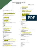 Diagnostic Test Java Programming