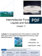 11. Intermolecular Forces and Liquids and Solids