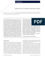 11.a Possible Biomechanical Role of Occlusal Cusp-fossa Contact Relationships