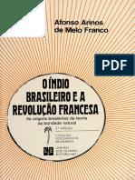 O I´ndio brasileiro e a Revoluc¸a~o francesa  as origens brasile