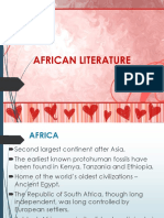 AFRICAN LIT