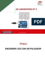 Laboratorio 05 Encender Led Con Pulsador