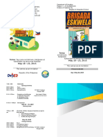 Brigada Eskwela 2019 Program of Activities