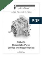 BDP 10L Hydro Pump