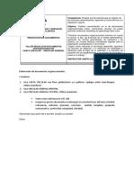 TALLER N° 3 REDACCION DE DOC ORG - CARTA CIRCULAR Y CIRCULAR GENERAL (1)