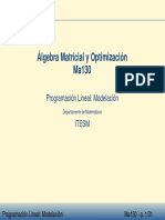 Ma4011 Programacion Lineal Filminas