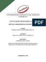 Discriminación - Hidalgo Noblecilla Christian