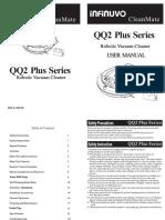 user-manual-qq-2-lt -Robotic Vacuum Cleaner INFINUVO