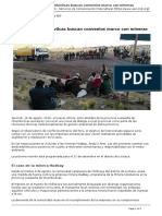 Servindi - Servicios de Comunicacion Intercultural - Alcaldes de Chumbivilcas Buscan Convenios Marco Con Mineras - 2016-08-17
