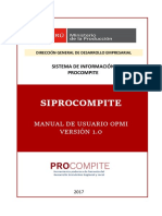 Manual Siprocompite Opmi
