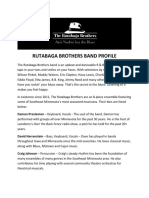 Rutabaga Brothers Band Profile