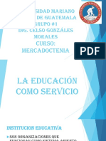 Presentación de Educación Como Servicio