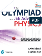(IIT JEE Advanced IITJEE) Arvind Tiwari Sachin Singh - Pathfinder Physics for Olympiad and IIT JEE Advanced Arvind Tiwari Sachin Singh Pearson-Pearson (2019)